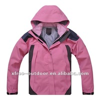 Outdoor windproof jacket for woman