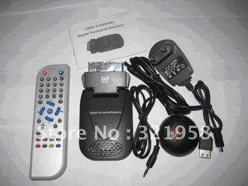 SCART Mini USB TV Box 01 HD Support H.264 Mpeg4 DVB-T Digital TV Stick
