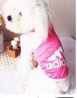 Free shipping wholesale Pet clothing eyelet fabric dog clothing cute FOR SUMMER