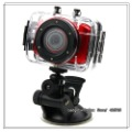 Factory Outlets Mini Helmet WaterProof HD Action Camera Outdoor Camcorder DV 60fps 2&#39;&#39;TFT Touch Panel 6 Colors Randomly