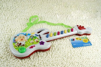 0409 300mm the small guitar 318-7 children toys electronic music piano Pleasant electric guitar