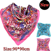2013 The Newest Fashion Horse Pattern Silk Scarf For Women,Hot Sale 100% Natural Silk Twill Big Square Scarf For Spring,autumn