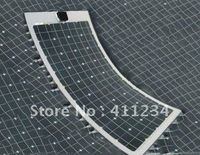 50W MONO solar panel flexible and light weight only 1.9kg