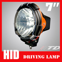 Free Shipping 55W 7inch Off Road 4WD XENON HID Driving Lamps OFFROAD Working Light Flood Spot Beam For Sport Vechicle 2pcs/lot