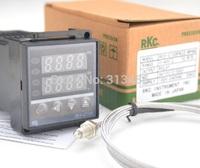 RKC Digital PID Temperature Controller multi-range Input Relay Output REX-C100 +1m probe thermocouple