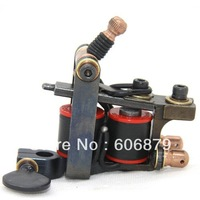 Profession Handmade Tattoo Machines 10 Wrap Coils Tattoo Gun For Liner WS-M512 free shipping