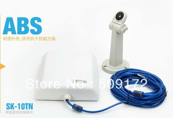 Signal King 10TN (10M cable) Wlan Usb Wifi antenna Outdoor With Directional 20dbi Flat Panel Antenna 150Mbps