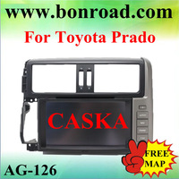 CASKA  toyota prado 2012 central multimedia  free shipping