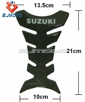 Carbon Fiber Motorcycle oil tank pad Sticker decal For SUZUKI BIKE FREE SHIPPING