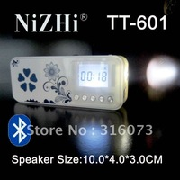 Wholesale Top sale Newest Bluetooth speaker NiZHi TT601 with Bluetooth and power bank  Support SD TF,USB,with FM radio