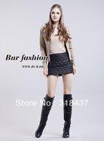 2013 High Quality women's fashion elegant cotton short skirt,123001