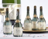 Bubbly Champagne Bubbles Bottles 24PCS/Lot  Free shipping soap water bubble bottles