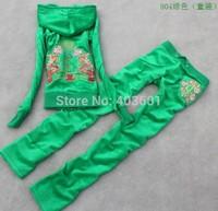 2014 autumn parent-child children's wear velvet Children Suits For Girls Set  women's and children style,5 color