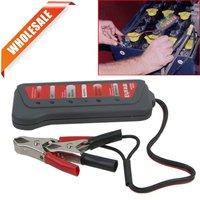 TIROL T16897c 5pieces/lot 12V LED Digital Battery/Alternator Tester Wholesale Free Shipping