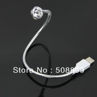 Free Shipping USB LED Flexible Light Lamp for PC Laptop Notebook +Dropshipping
