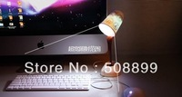 Freeshipping Creative USB battery dual-use coffee light LED desk lamp color random +Dropshipping