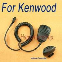 Speaker mic with Volume Control for Kenwood Wouxun Quansheng Puxing 2 PIN Jack two way radio