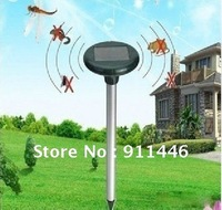 Solar Power LED Ultrasonic Mouse Pest Repeller