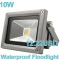 3Pcs/ lot Waterproof 10W 85-265V High Power Warm White/Cool White  LED Floodlight Free shipping