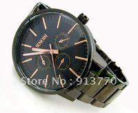 Gift box watch New SINOBI brand Fashion Quartz Adjustable Stainless Watchband Men's Wrist Watch