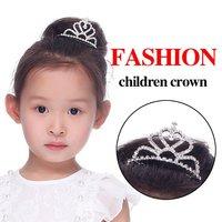 Free shipping guaranteed 100% 6pcs/lots children birthady tiara special CROWN Tiara Baby Princess crown headwear hot sale