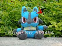 "Pokemon Plush Toy Lucario 7"" Cute Soft Stuffed Animal Doll Kid Gift"