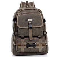 2012 New design hotsale Men backpacks Men canvas backpack travel bags large capacity back pack
