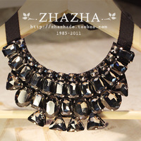 fashion Vivi vintage white glass luxurious gem collar necklace Free Shipping many styles gift  item