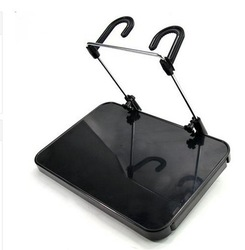 Free shipping 1pcs/lot vehic-mouted computer desk side pull type computer drink table /computer stand(China (Mainland))