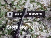 Illuminated Optical Hunting Rifle Scope 3-9X40 Riflescopes with Free Mounts