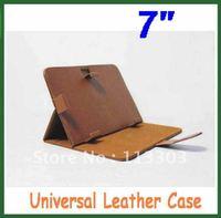 Universal 7 inch PU Leather Flip Case for Ainol Novo 7 Venus Fire Flame Cube U25GT,U21GT;Vido N70 PD10 not for Ployer Momo9 iii