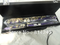 Purple Silver Grant YFL-271S16 hole, a very good birthday present plus the E key obturator flute stock