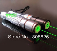 New 10000mw Green laser pointer Focusable Torch burn matches Green laser pen Free ship (011)