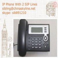 2 lines VoIP phone ,IP phone,SIP servers