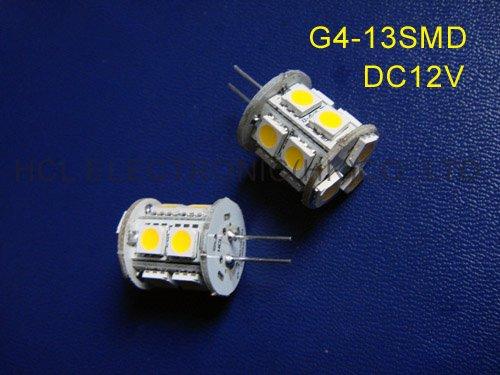 High quality 5050 12V G4 led light ,led G4 lamps 12V G4led bulb free shipping 5pcs/lot(China (Mainland))