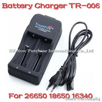 TrustFire TR-006 Charger 26650 18650 16340 4.2 V / 3.0V Li-ion Auto Stop Charging Battery Charger Drop Shipping