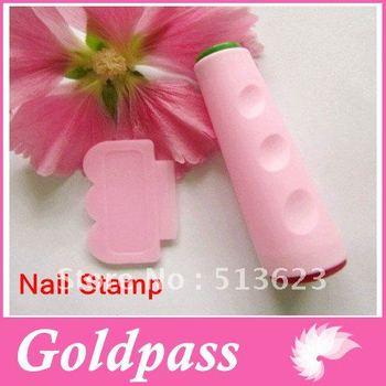 (6Set/Lot) Image plate stamper tools & Scraper Nail Art Polish DIY Free 1 stamping plates Free Shipping
