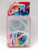 Transparent Waterproof UNO H2O Card Game Playing Card Family Fun