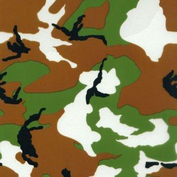 Camoflage Royalty Hydrographic Printing Film -Army Green Camouflage WIDTH 100CM GW2936-1