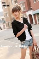autumn new arrival plus size clothing cardigan cape outerwear sweater 7 colors  fashion sweater
