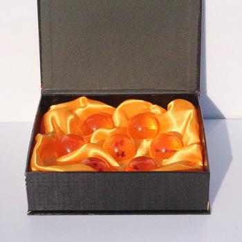 Free Shipping 3.5cm 7pcs/set Dragonball Z star crystal ball set FS Promotion Japan Anime 1-7 star ball