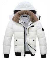 men down coat Men's coat Winter overcoat Outwear Winter jacket  hooded thick fur  jackets outdoor Free shipping   MWM001