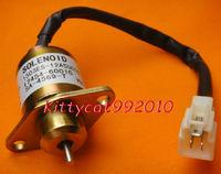 New valve 12 Volt Solenoid 3 wires for KUBOTA 05 1503ES-12A5UC5S 17454-60010