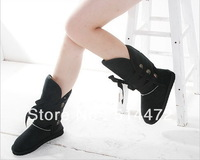 Fashion Popular ladies winter boots Mid calf boots  size:35--40