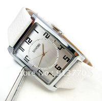 Gift box watch Free Shipping! Hot! Fashion&Luxury Wholesale Lady Leather Belt Watches Quartz Wrist Watch