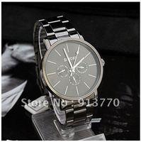 Gift box watch Sport New fashion Men's Sport Quartz Wrist Watch Black Band Black Dial Japan Movt Watches Swiss H191
