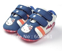 New arrived today Hello kitty  baby toddler shoes COLOFUL BOY DESIGEN -1722