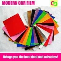 12 colors to choose wholesale color changing vinyl film car vinyl car wrap practicable car stickers