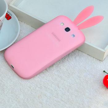 Free Shipping! 2013 New Arrival Cute Bunny Rabito Rabbit Silicon Solf