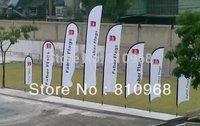 10 large size beach flying flag, tear drop flag printing, quality beach flag, high quality, free shipping